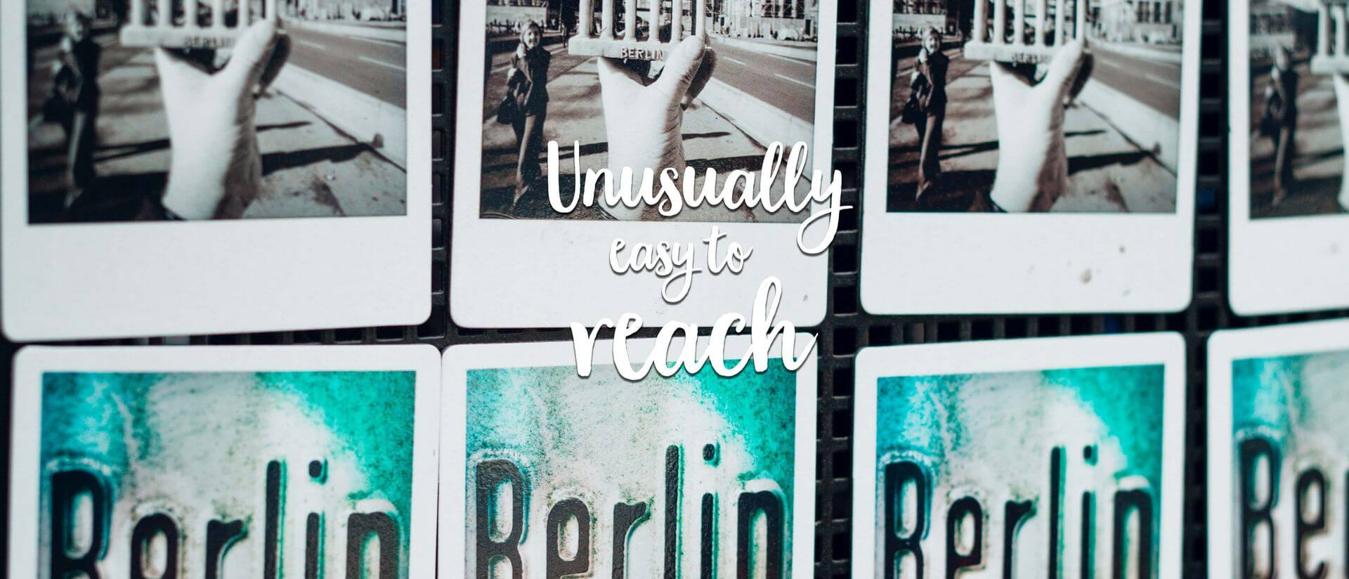 Polaroid pictures of Berlin