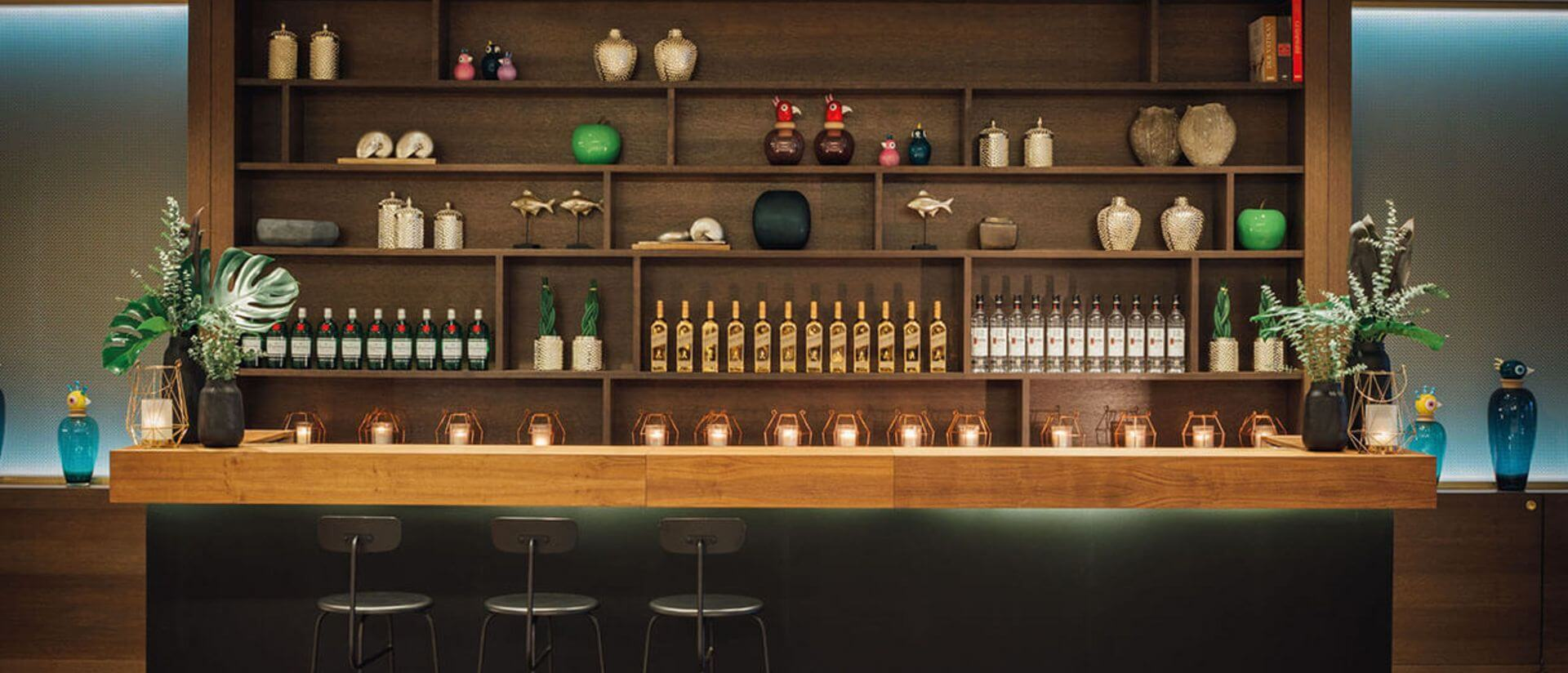 creative event example bar set up